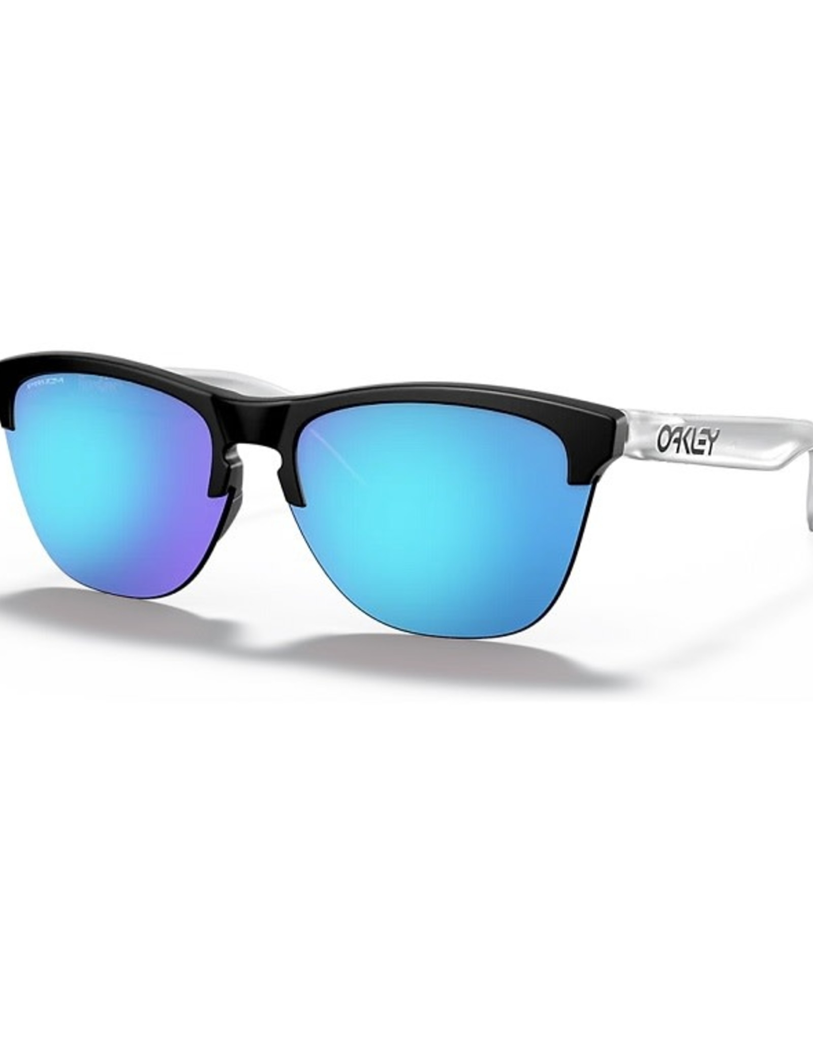 Oakley FROGSKINS LITE Matte Black/Matte Clear, Prizm Sapphire Iridium