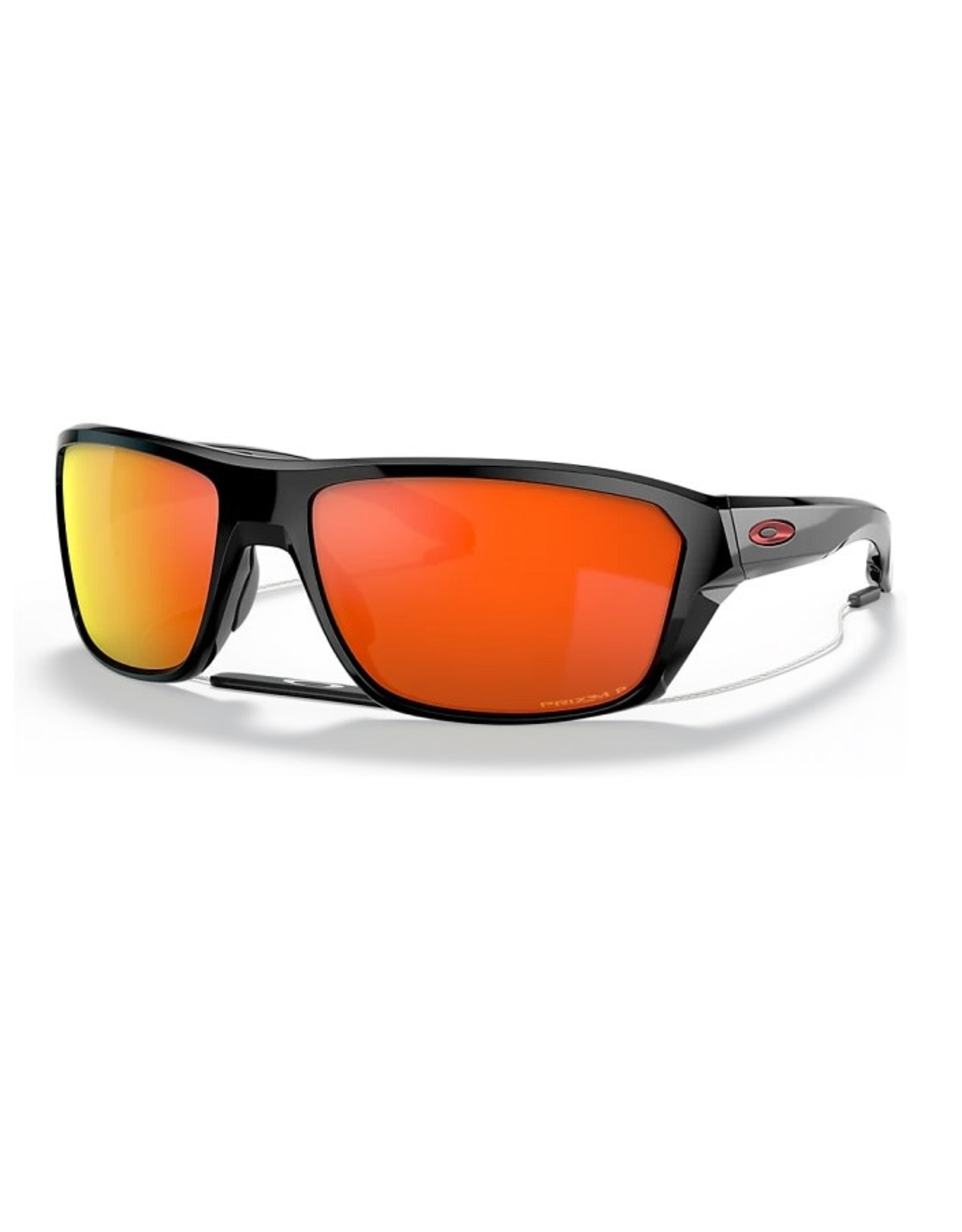Oakley SPLIT SHOT Polished Black, Prizm Ruby Poalrized