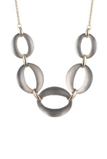 ALEXIS BITTAR - Large Lucite Link Necklace