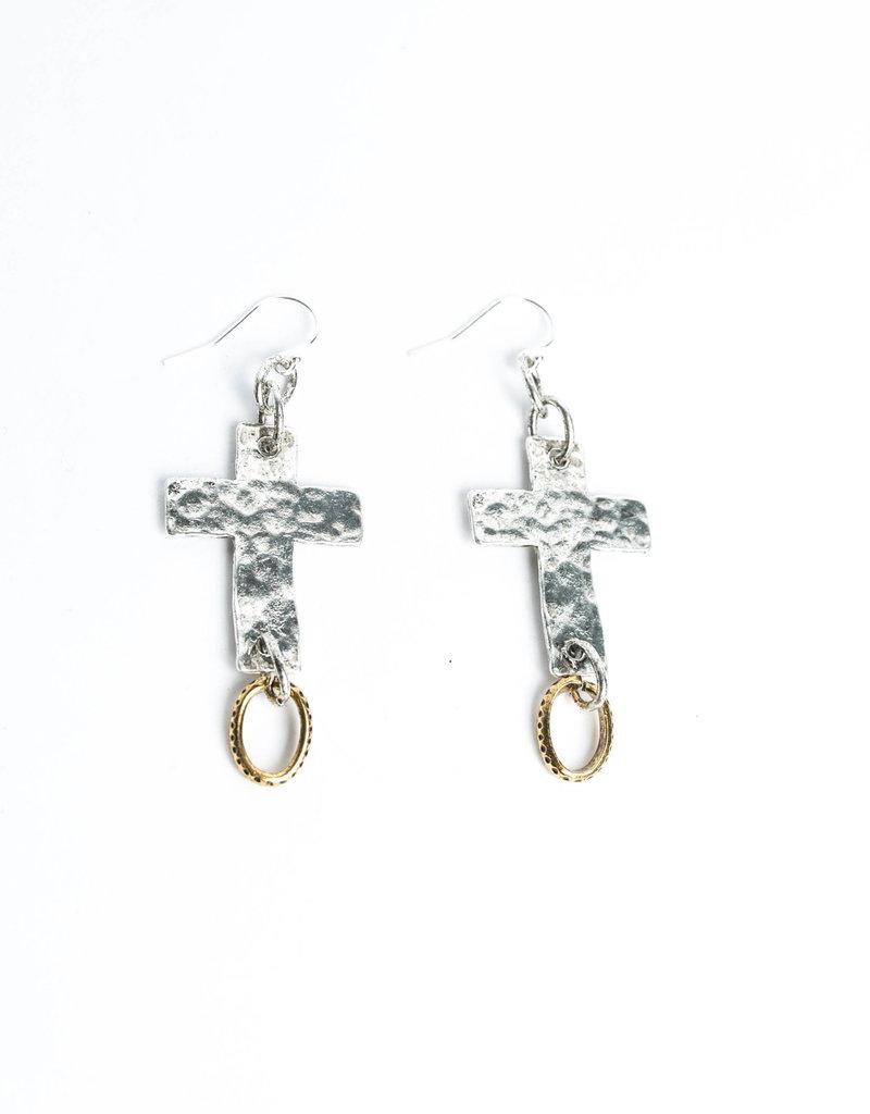 Diana Warner-Paige Cross Earring