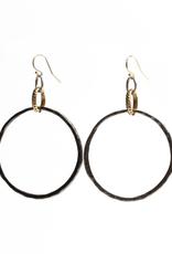 Diana Warner - Paige Large Hoop Earring