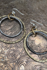 Diana Warner - Paige Double Hoop Earring