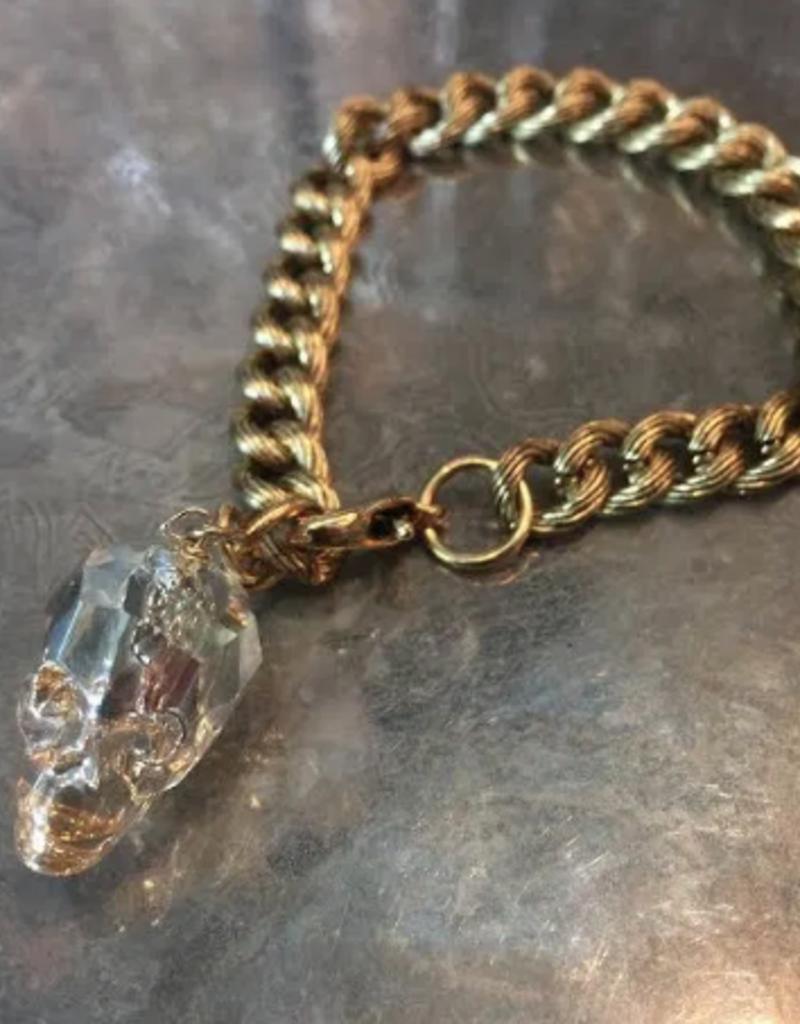 Diana Warner - Lg. Skull Bracelet