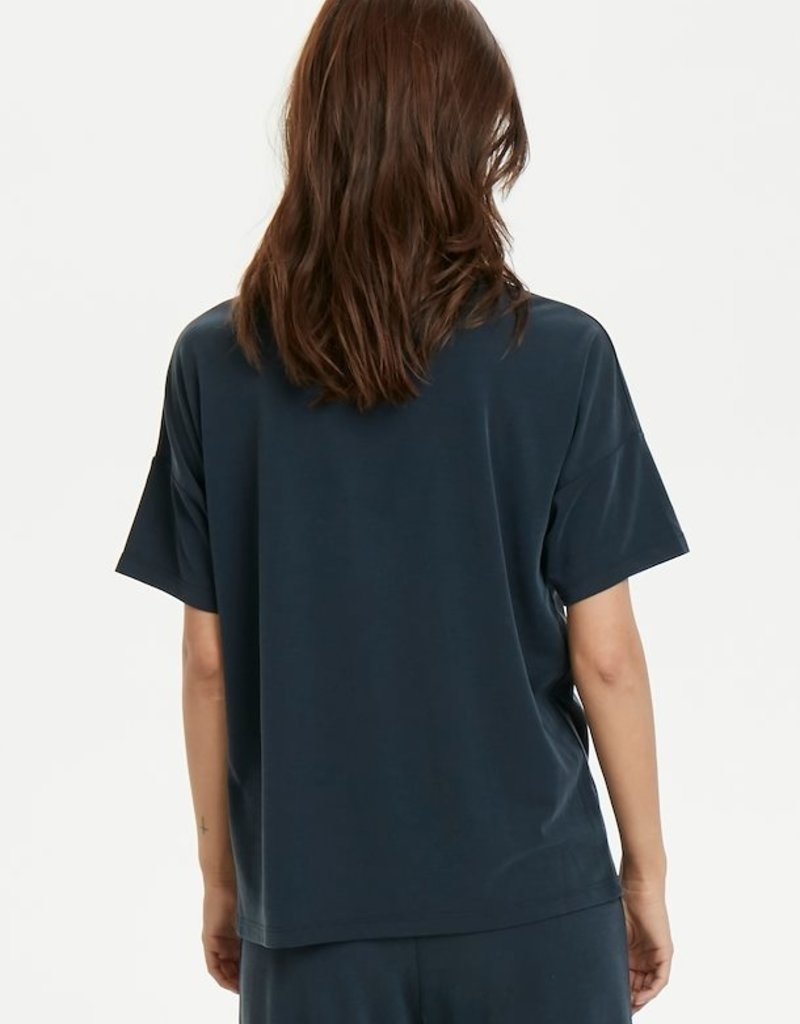 Part Two - Tia TS Knitted Blouse V-neck