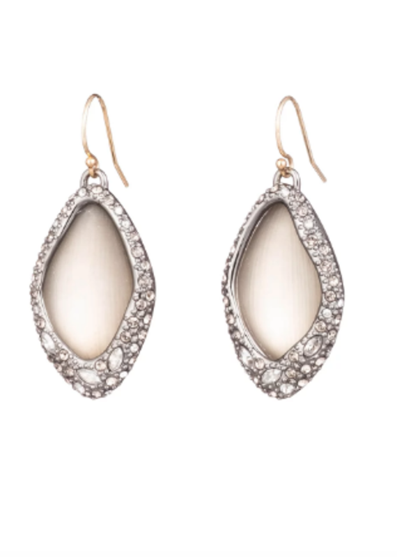 ALEXIS BITTAR ALEXIS BITTAR - Pave Encased Drop Earring