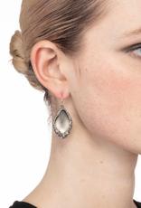 ALEXIS BITTAR - Pave Encased Drop Earring