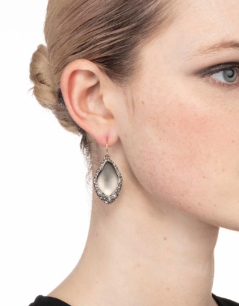 ALEXIS BITTAR ALEXIS BITTAR - Pave Encased Drop Earring