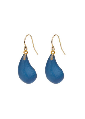 ALEXIS BITTAR Dewdrop Earrings In Blue