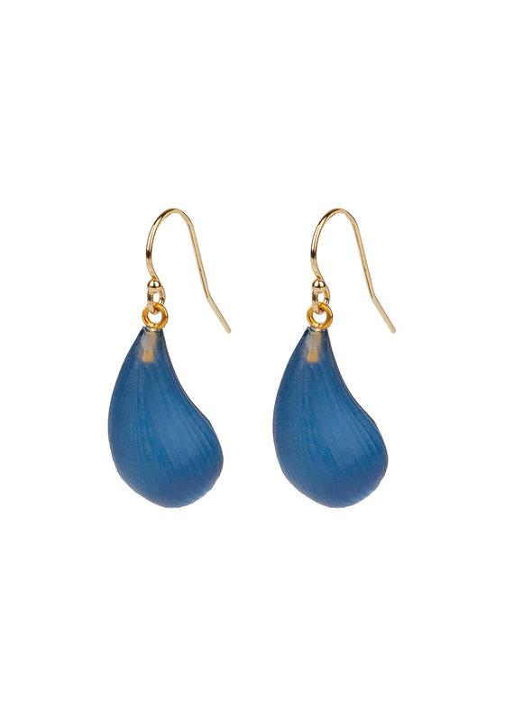 ALEXIS BITTAR Dewdrop Earrings In Blue