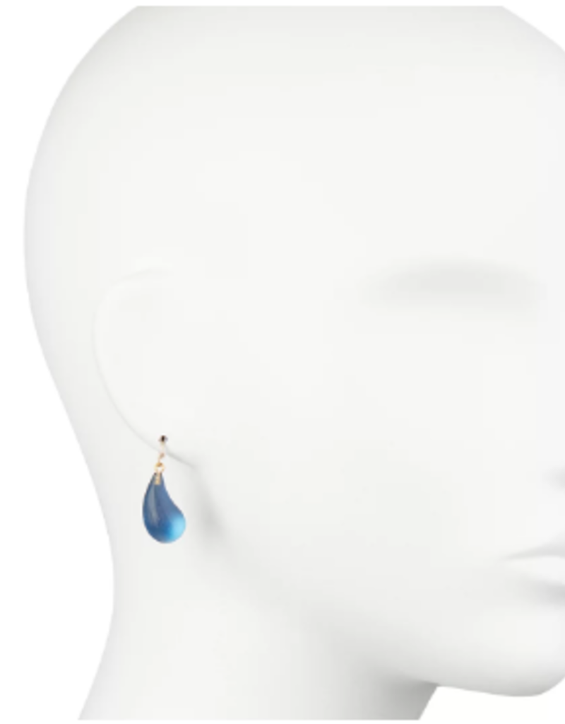 ALEXIS BITTAR Dewdrop Earrings In Pacific Blue