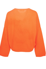 Brodie CHICAGO SWEATER NEON ORANGE