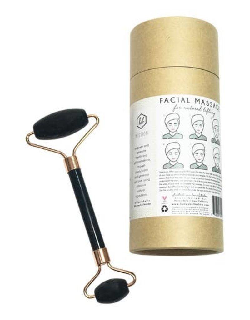 Indigo Faire Honey Belle - Black Obsidian Facial Roller