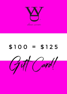 DW Gift Card Sale $100 + $25