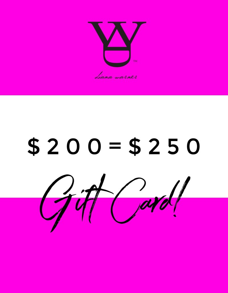 DW Gift Card Sale $200 + $50