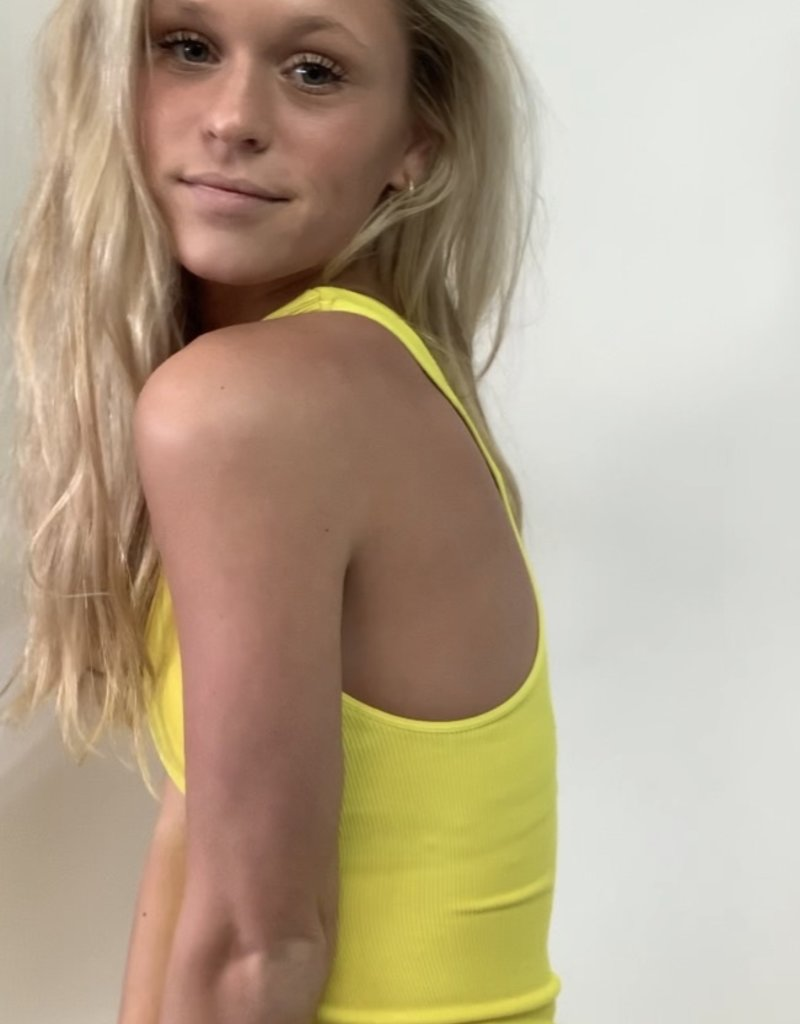 Recover - Ribbed Racerback Tank
