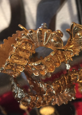 Diana Warner-Serpent Earrings