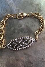 Diana Warner - Vivian Bracelet - Gold Chain