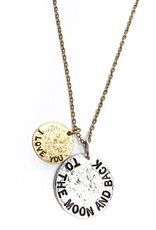 Diana Warner-I Love You to the Moon and Back Necklace