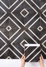 Louisville Tile CADENCE COAL BLACK ALLEY