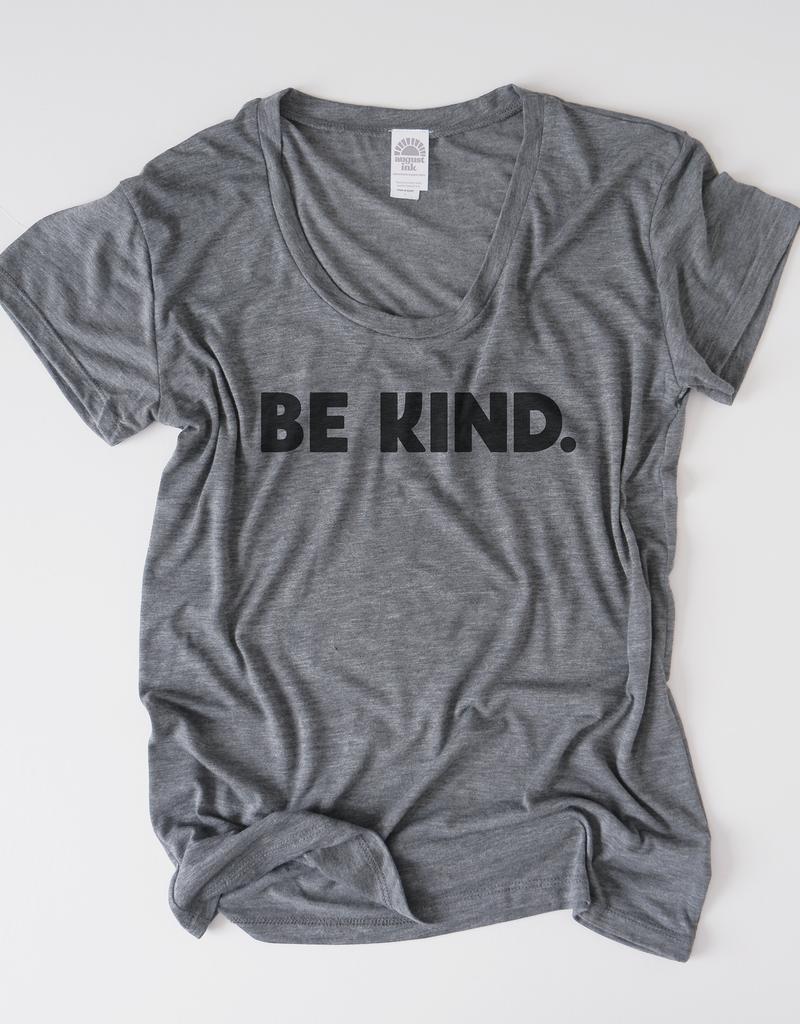 August Ink - Be Kind Tee Grey
