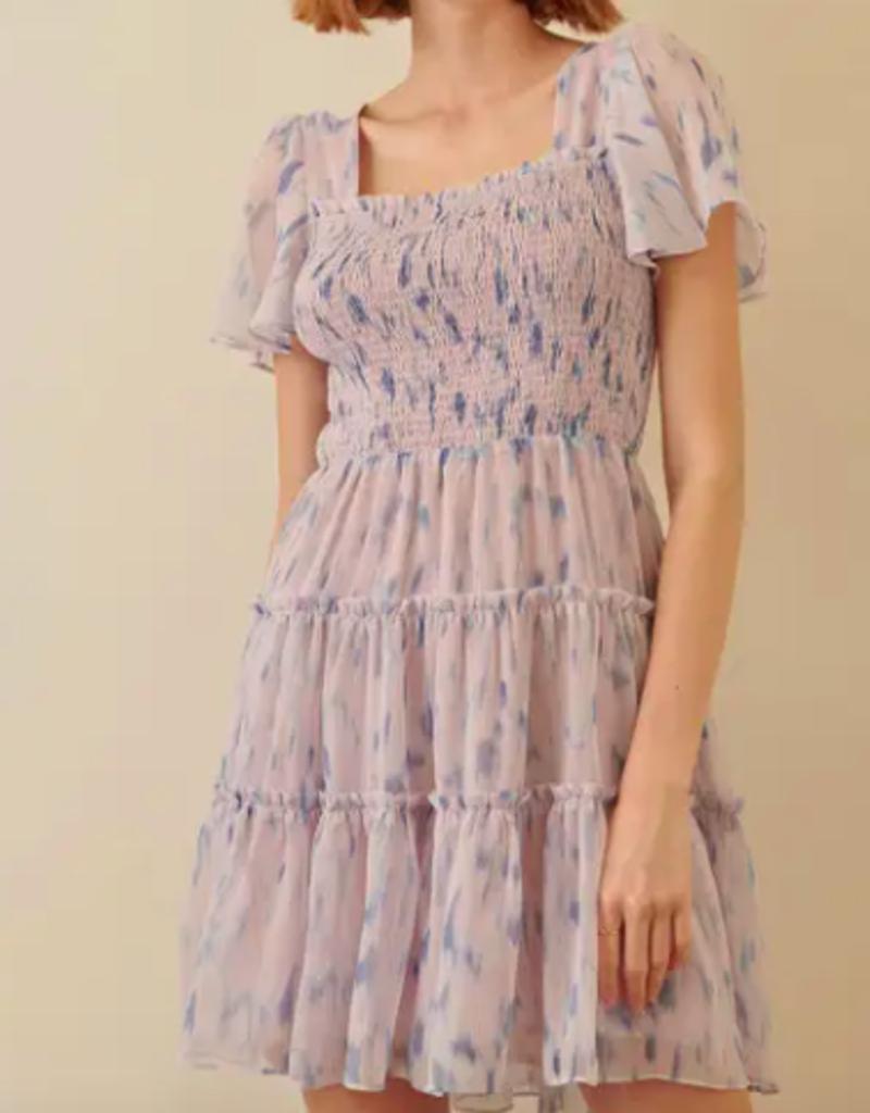 Storia Storia Spotted Print Mini Dress