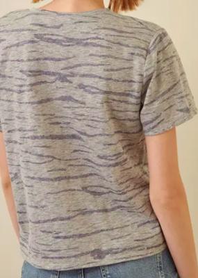Storia Zebra Print Boxy T-Shirt