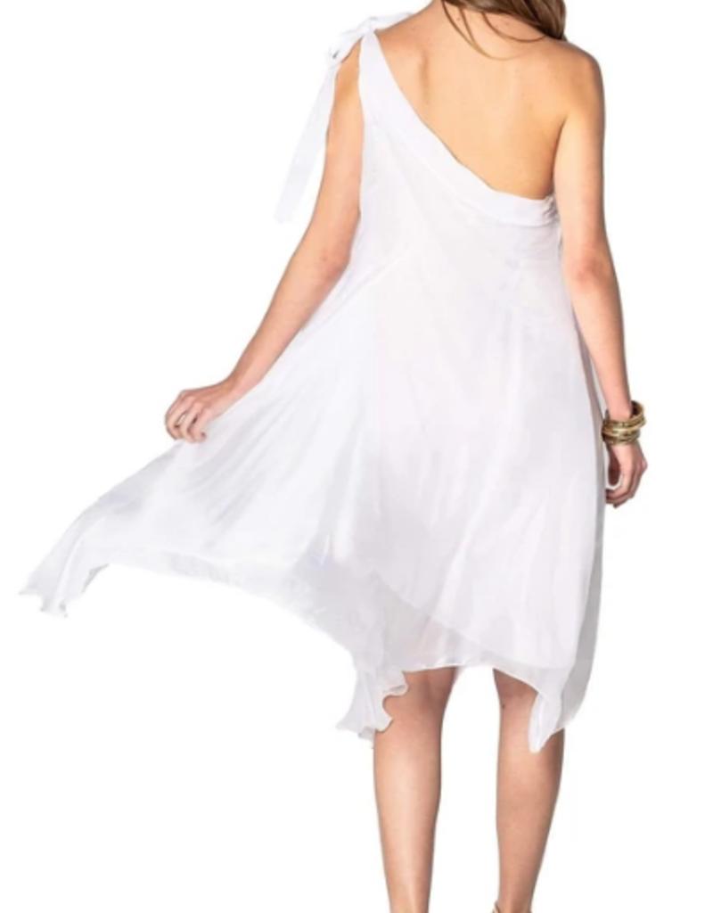 Sofia Athena  Dress White