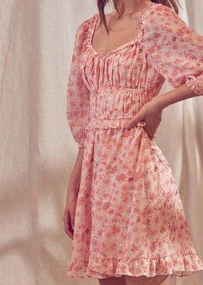 Storia Storia Floral Mini Dress