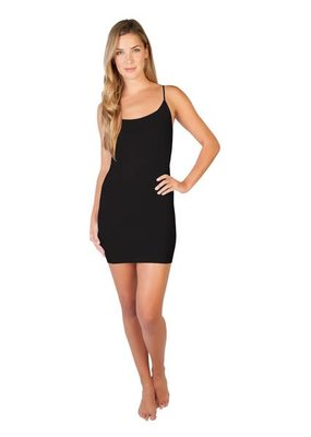 Skinny Tees Black Cami Dress