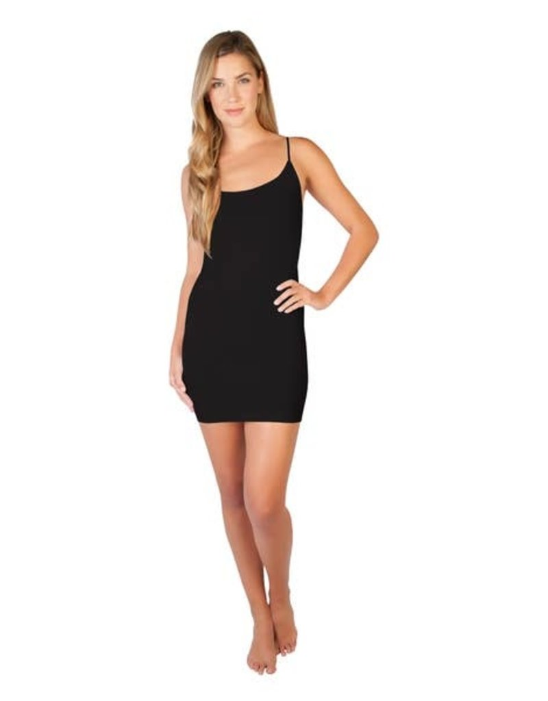 Skinny Tees Black Cami Dress