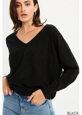Soft Feel V-Neck Pullover