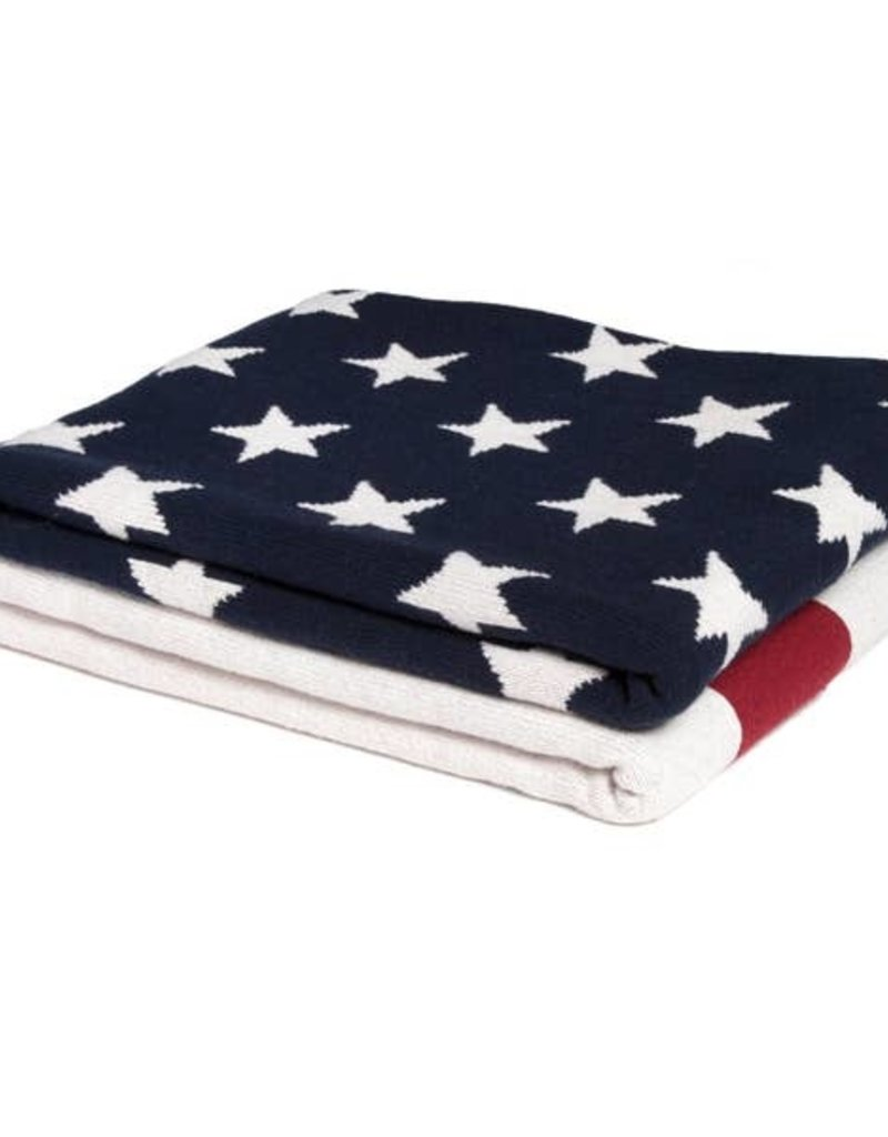 in2green Eco American Flag Throw