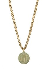 TOVA Love Coin Gold Necklace