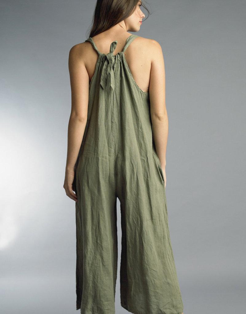 Tempo Paris Linen Jumpsuit