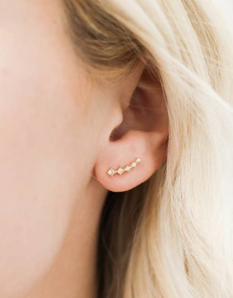 Indigo Faire Jax Kelly - Crawler Earring