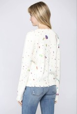 Fate Mixed Paint Spatter Sweater