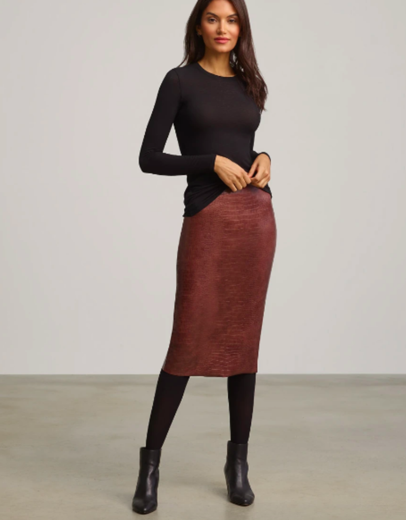 Commando Commando Faux Midi Skirt