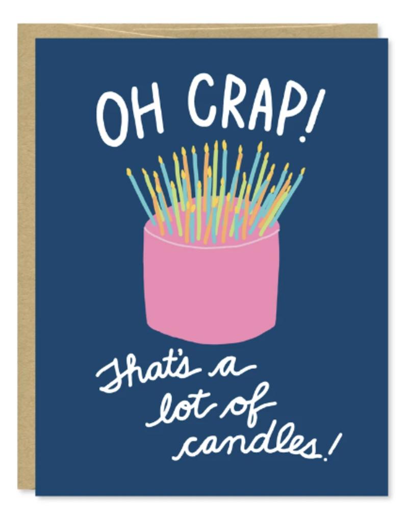 Row House 14 Candles Birthday Card