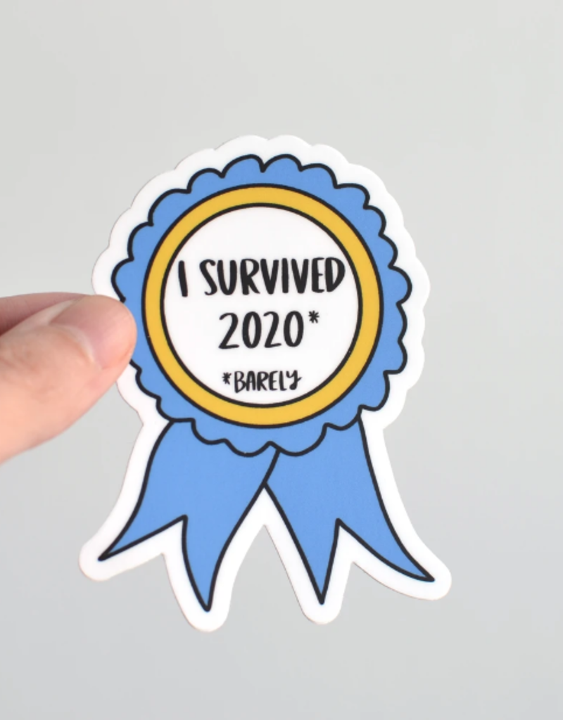 Row House 14 I Survived 2020 Sticker