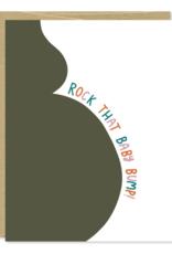 Row House 14 Baby Bump Card