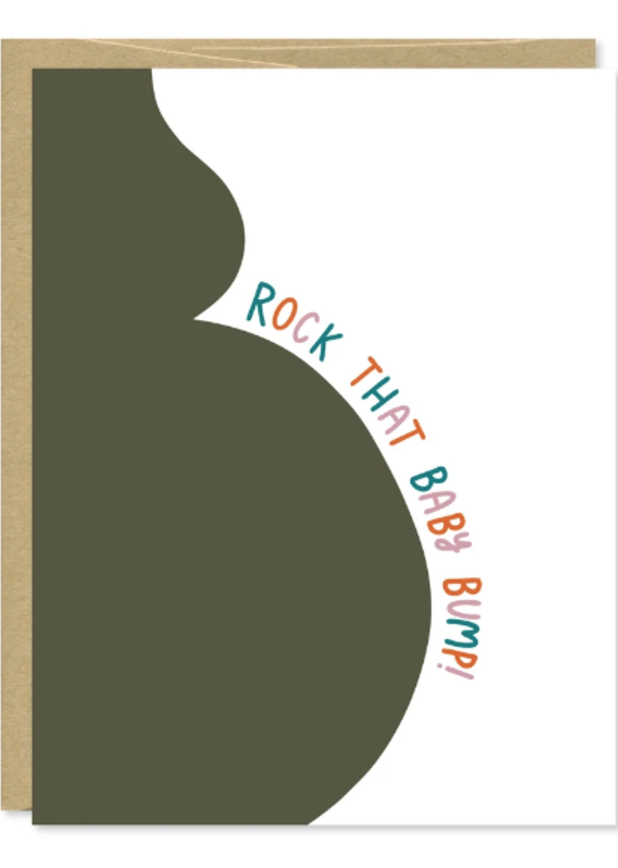 Row House 14 Baby Bump Card