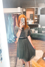 Cotton Canary  Sweet Pea Skirt