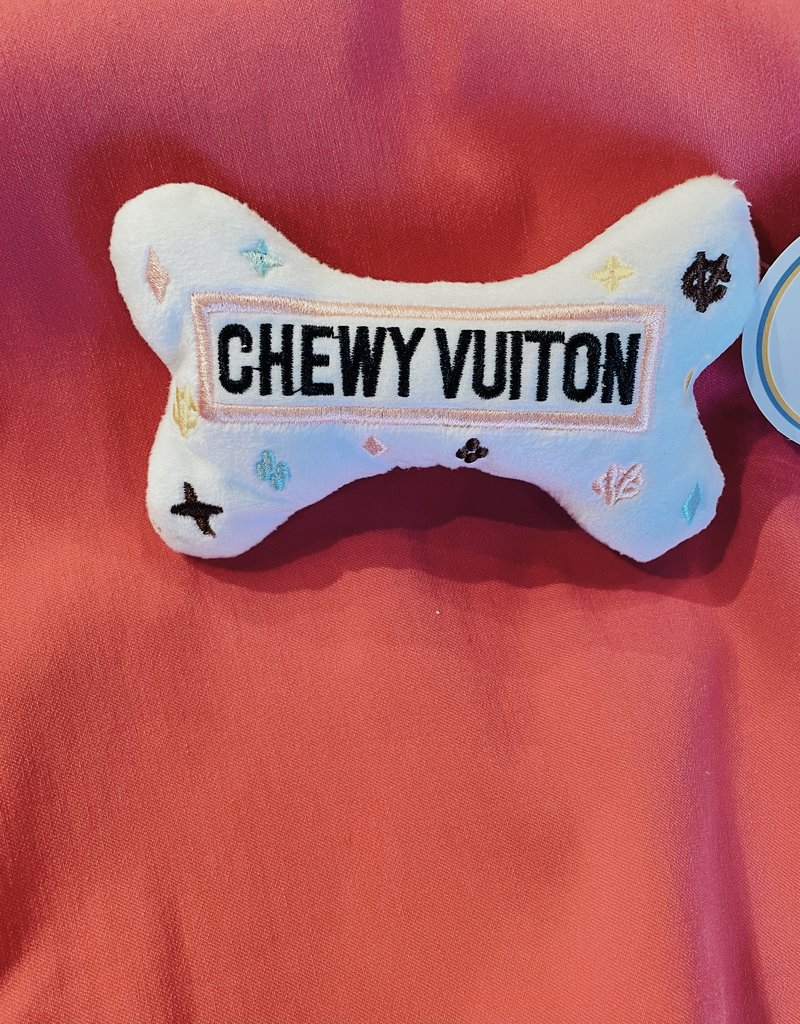 Haute Diggity Dog White Chewy Vuiton Bone Small