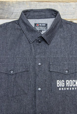 Big Rock Brewery Grey Denim Jacket