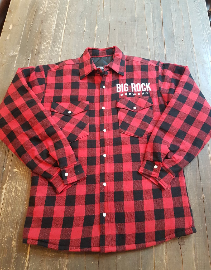 Big Rock Brewery Buffalo Plaid Jacket