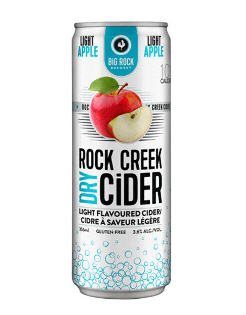 Rock Creek Light Apple Cider - 24 Can Flat
