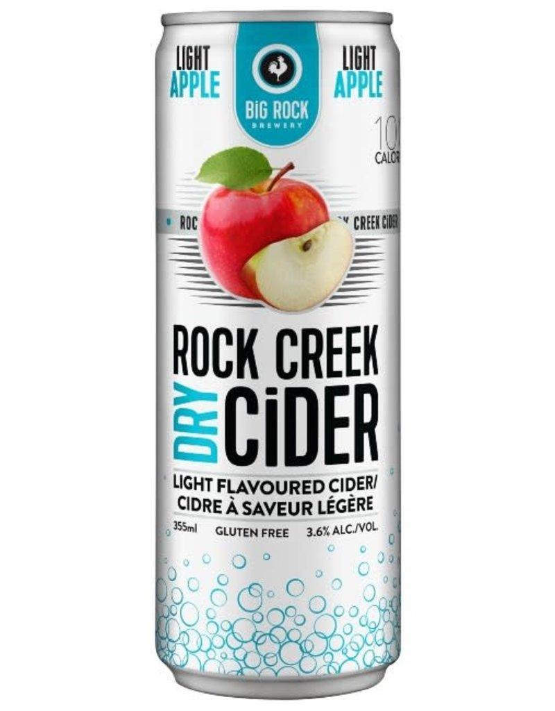 Rock Creek Light Apple Cider - 24 Can Flat (BC)