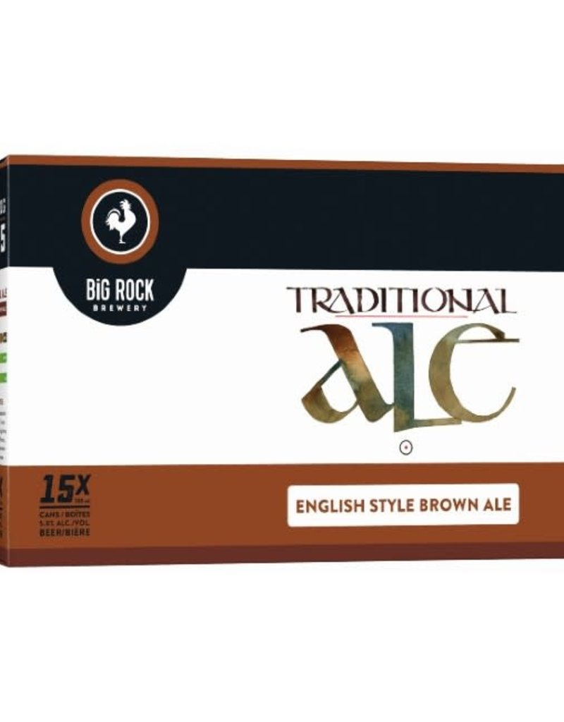 Big Rock Brewery Traditional Ale 15 Can (BC)