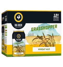 Big Rock Brewery Grasshopper 12 Can (ED)