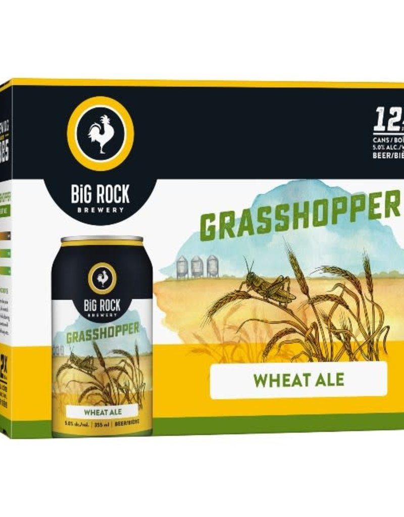 Big Rock Brewery Grasshopper 12 Can (BC)